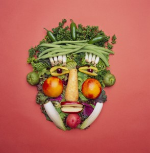 Vegetables are part of a healthy diet